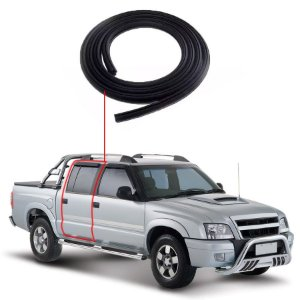 Borracha Porta Traseira Direita Chevrolet S10