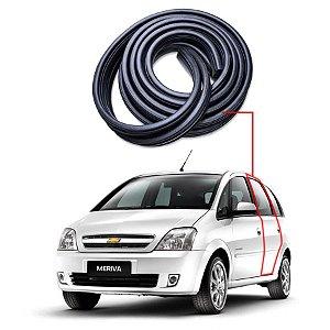 Borracha Tri-bulbo Porta Traseira Esquerda Chevrolet Meriva