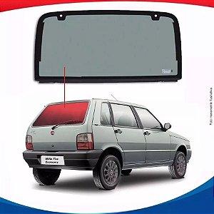 Vigia Liso Fiat Uno 85/07 Vidro Traseiro
