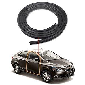 Borracha Porta Dianteira Direita Chevrolet Prisma 4 Portas