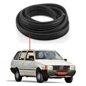 Borracha Porta Direito Fiat Elba 2 Portas 84/96