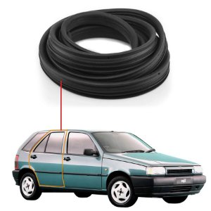 Borracha Porta Traseiro Direito Fiat Tipo 93/97