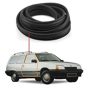 Borracha Com Aba Porta Direita Universal Chevrolet Ipanema