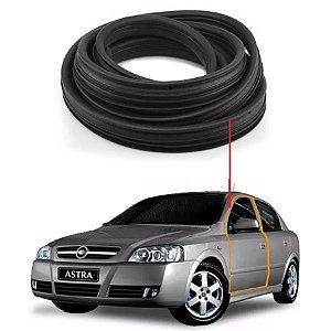 Borracha Com Aba Porta Dianteira Esquerda Chevrolet Astra