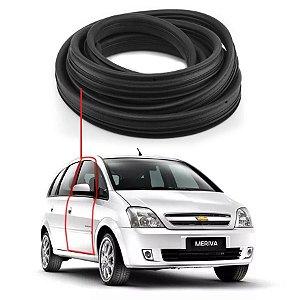 Borracha Com Aba Porta Dianteira Direita Chevrolet Meriva