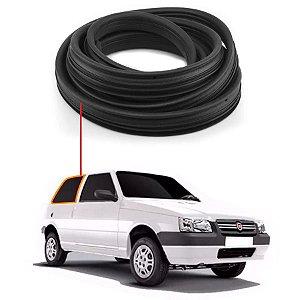 Borracha Janela Fixa Direita Fiat Uno 2 Portas