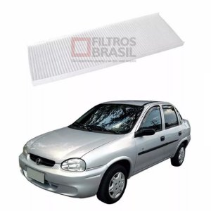 Filtro Ar Condicionado Chevrolet Corsa Sedan Classic 97/...