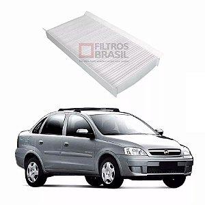 Filtro Ar Condicionado Chevrolet Corsa Sedan 02/...