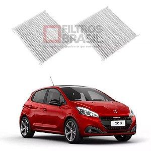 Filtro Ar Condicionado Duplo Peugeot 208 1.5 Flex 12/...