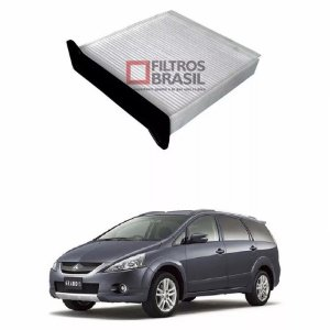 Filtro Ar Condicionado Mitsubishi Grandis 06/...