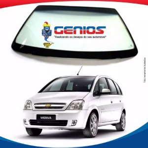 Parabrisa Chevrolet Meriva 03/12 Vidro Dianteiro