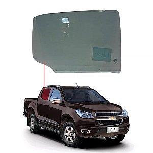 Vidro Porta Traseiro Direito Chevrolet S10 12/... Saint Gobain