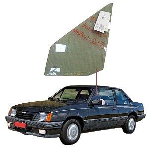 Vidro Quebra Vento Sem Furo Esquerdo Chevrolet Monza 82/88