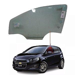 Vidro Porta Dianteiro Esquerdo Chevrolet Sonic 11/16