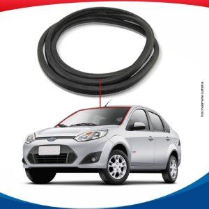 Borracha Superior e Lateral  Parabrisa Ford Fiesta Rocan Sedan 02/12