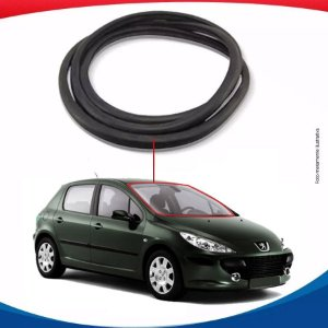 Borracha Parabrisa Peugeot 307 Hatch 02/12