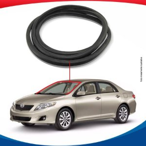 Borracha Superior e Lateral Parabrisa Toyota Corolla 08/13