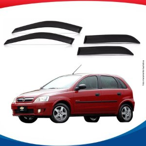 Calha de Chuva Chevrolet Corsa 4 pts 02/...