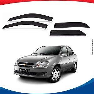 Calha de Chuva Chevrolet Corsa Classic Sedan 95/...