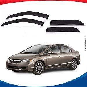 Calha de Chuva Honda New Civic 07/11 4 Portas