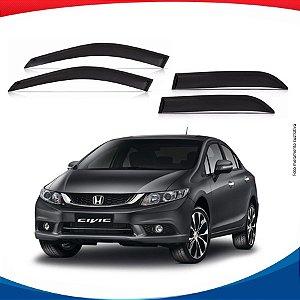 Calha de Chuva Honda New Civic 12/14