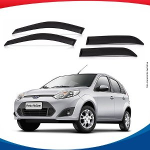 Calha de Chuva Ford Fiesta Amazon Hatch 02/07 4 pts