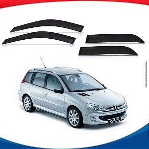 Calha de Chuva Peugeot 206 SW 4 Portas 00/...