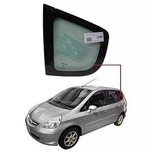 Vidro Oculos Traseiro Esquerdo Honda Fit 02/09