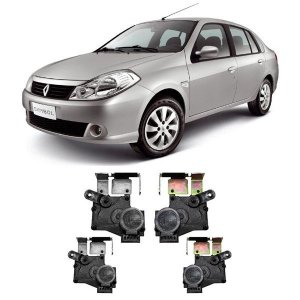 Trava Elétrica Tragial Renault Symbol