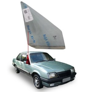 Vidro Quebra Vento Sem Furo Direito Chevrolet Monza 82/88