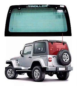 Vigia Térmico Troller T4 99/08 Thermoglass Vidro Traseiro