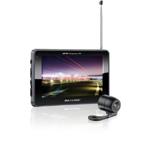"GPS Multilaser Tela 5"" C/TV E Camera De RE"