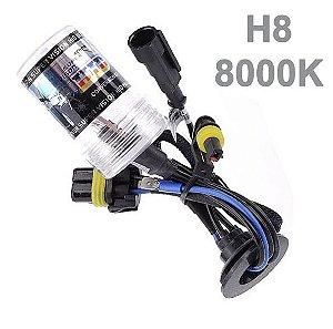 Lâmpada h8 8000k