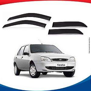 Calha Chuva Fiesta Hatch 96/01 Courier 97/09 2PTS