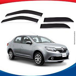 Calha de Chuva Renault Logan Novo 14/...