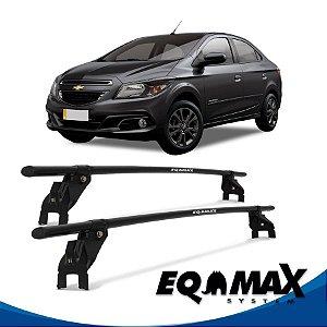 Rack Aço Teto Eqmax Chevrolet Prisma Advantage 4 Portas 13/15