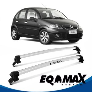 Rack Eqmax Citroen C3 4P New Wave Teto 04/12 prata