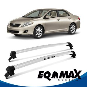 Rack Eqmax Corolla New Wave 09/13 prata