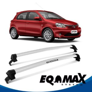 Rack Eqmax Etios Hatch New Wave 13/16 prata