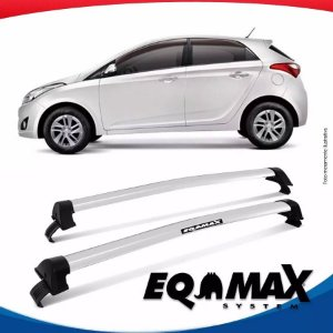 Rack Eqmax HB20 Hatch 2012 New Wave Prata