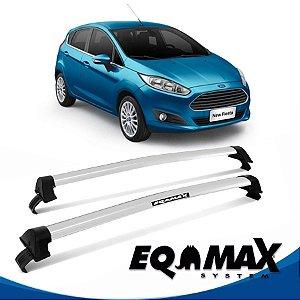 Rack Eqmax Fiesta Novo Hatch Nacional New Wave 14/15 prata