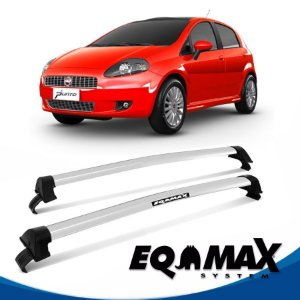 Rack Eqmax Fiat Punto 4P New Wave 07/15 prata