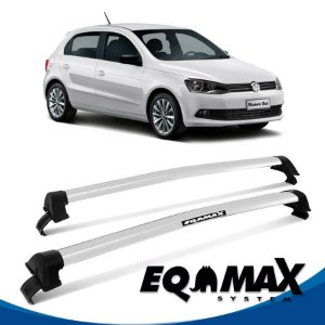 Rack Eqmax VW Gol G6 New Wave 12/14 prata