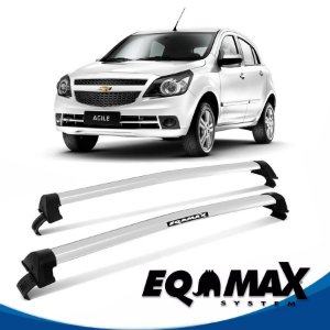 Rack Eqmax Agile New Wave 09/14 prata