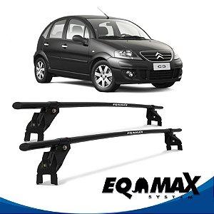 Rack Aço Eqmax Citroen C3 4 Pts 04/12