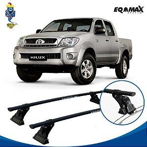 Rack Aço Teto Eqmax Toyota Hilux