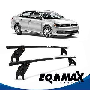 Rack Aço Teto Eqmax VW Jetta 4 Pts 12/13
