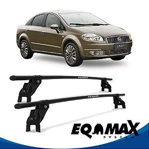 Rack Aço Teto Eqmax Fiat Linea 09/13