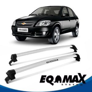 Rack Eqmax Chevrolet Prisma  New Wave 07/12 prata