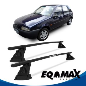 Rack Aço Teto Eqmax Ford Fiesta Street Hatch 4 Pts 96/06 (Friso)